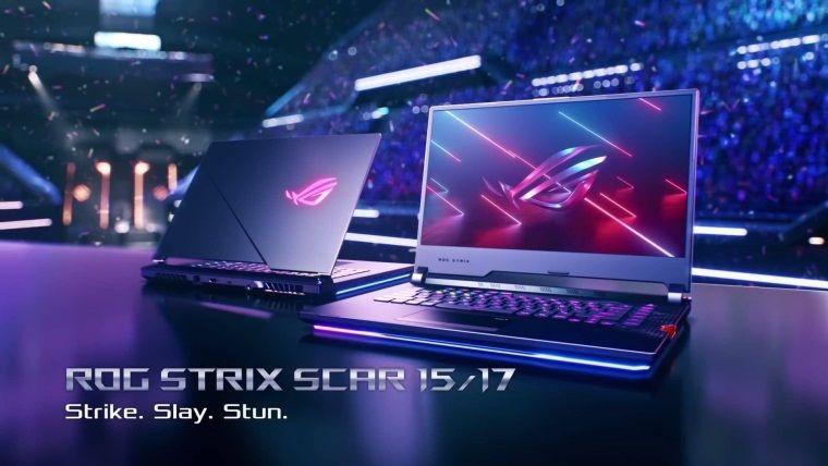 Asus ROG Strix Scar 17 oyuncu dizüstü bilgisayarı duyuruldu